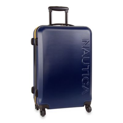 Nautica® Ahoy 25-Inch Hardside Luggage in Navy