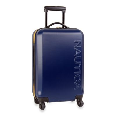 Nautica® Ahoy 21-Inch Hardside Carry-On Luggage in Navy