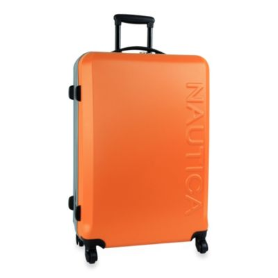Nautica® Ahoy 28-Inch Hardside Luggage in Orange