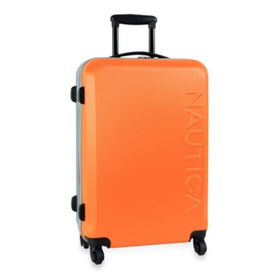 Nautica® Ahoy 25-Inch Hardside Luggage in Orange