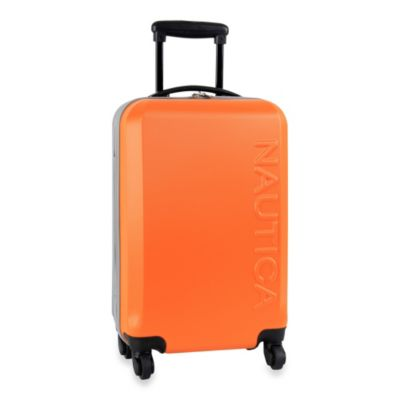 Nautica® Ahoy 21-Inch Hardside Carry-On Luggage in Orange