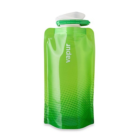 Vapur® Shades 0.5-Liter Foldable Water Bottle - Green