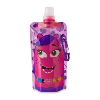 Vapur® Quenchers 0.4-Liter Kids Foldable Water Bottle - Pink