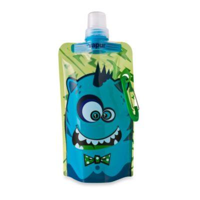 Vapur® Quenchers 0.4-Liter Kids Foldable Water Bottle - Blue