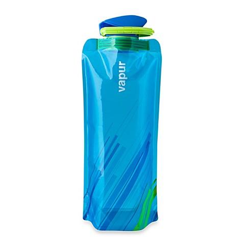 Vapur® Shades 1-Liter Foldable Water Bottle - Blue