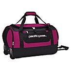 Pacific Gear®  20-Inch Rolling Duffel in Pink