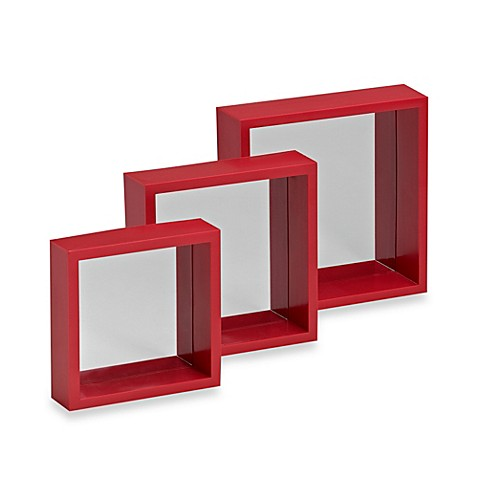 Buy Decorative Square Wall Mirror (Set of 3) from Bed Bath ...