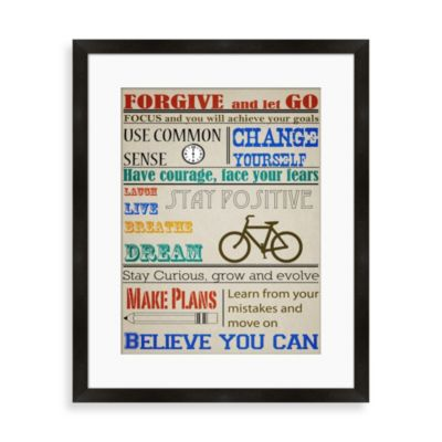 """Forgive And Let Go"" Wall Decor"