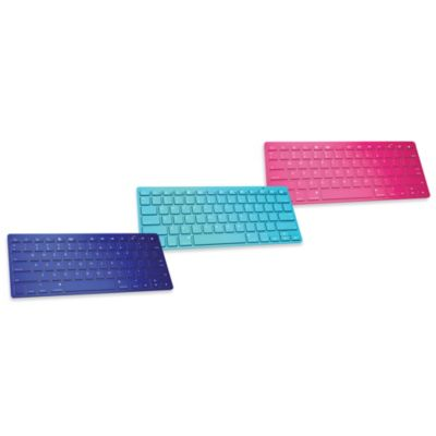 Ultra Slim Wireless Bluetooth Keyboard - Blue