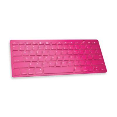 Ultra Slim Wireless Bluetooth Keyboard - Pink