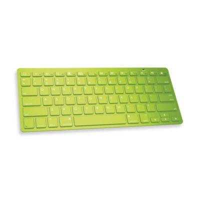 Ultra Slim Wireless Bluetooth Keyboard - Green