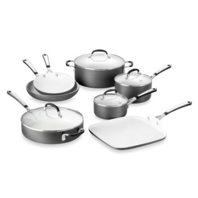 Simply Calphalon® Ceramic Nonstick 11-Piece Cookware Set