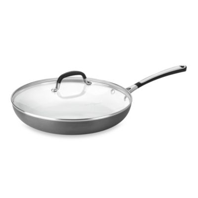 Simply Calphalon® Ceramic Nonstick 12-Inch Covered Omelet Pan