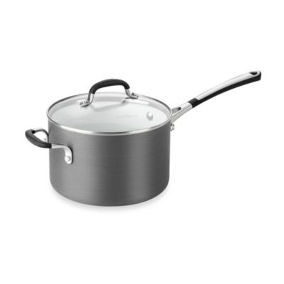 Simply Calphalon® Ceramic Nonstick 4-Quart Covered Saucepan