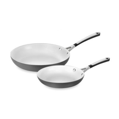 Simply Calphalon® Ceramic Nonstick 8-Inch and 10-Inch Omelet Pan Set