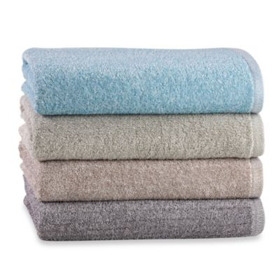 Heathered Bath Towel in Colors