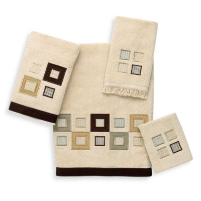 Avanti Metropolis Washcloth in Linen