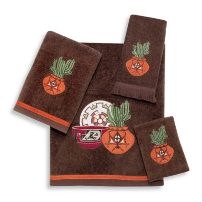 Avanti Sun Valley Hand Towel in Mocha
