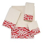 Avanti Coral Cay Washcloth in Ivory