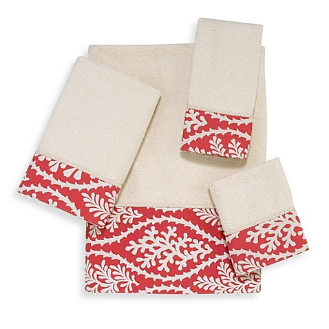 Avanti Coral Cay Hand Towel in Ivory