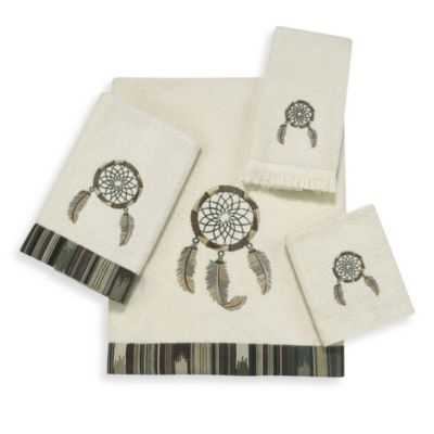 Dream Catcher Ivory Bath Towel