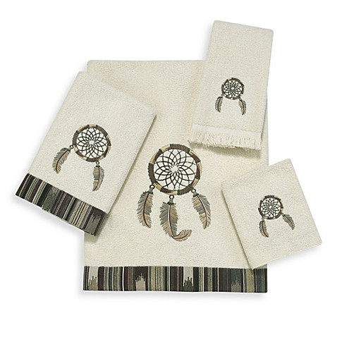 Dream Catcher Ivory Hand Towel