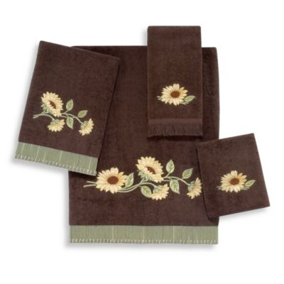 Avanti Lancaster Washcloth in Mocha