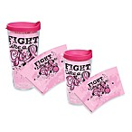 Tervis® Fight Like A Girl Pink Wrap Tumblers with Lid