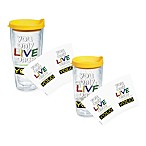 Tervis® You Only Live Once (YOLO) Wrap Tumblers with Yellow Lid