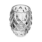 Mikasa® 3-Inch Diamond Embossed Clear Glass Tealight Holder