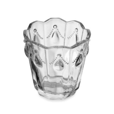 Mikasa® 3-Inch Scalloped Clear Glass Tealight Holder