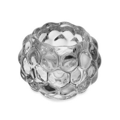 Mikasa® 3-Inch Bubble Glass Tealight Holder