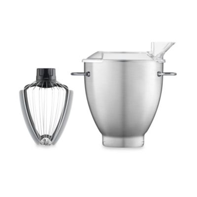 Breville® Scraper Whisk™ with 3-Quart Stainless Steel Mixing Bowl