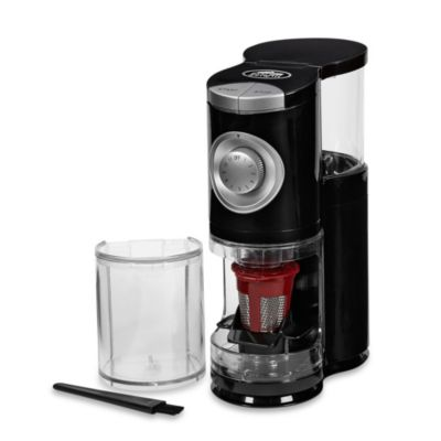 Solofill® SoloGrind 2-in-1 Automatic Single Serve Coffee Burr Grinder