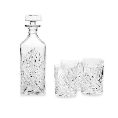 Godinger Dublin Crystal Whiskey 5-Piece Barware Set