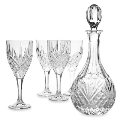 Godinger Dublin Crystal Wine 5-Piece Barware Set