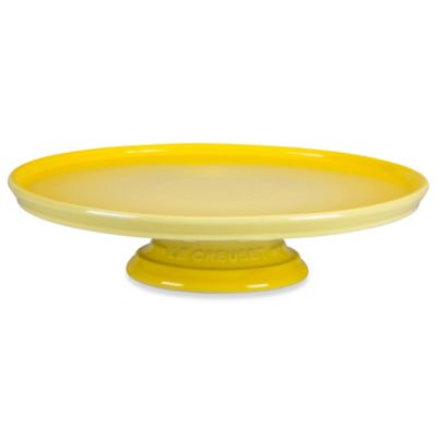 Le Creuset® 12-Inch Cake Stand in Soleil
