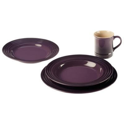 Le Creuset® 4-Piece Place Setting in Cassis