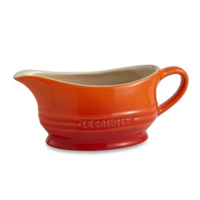 Le Creuset® 12-Ounce Gravy Boat in Flame