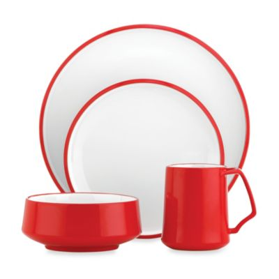 Dansk® Kobenstyle 4-Piece Place Setting in Red