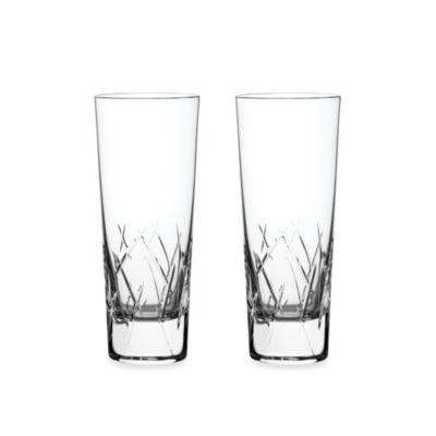 Vera Wang Wedgwood® Duchesse Encore 12-Ounce HighBall Glasses (Set of 2)