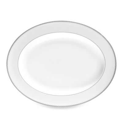 Monique Lhuillier Waterford® Dentelle 13 1/2-Inch Oval Platter