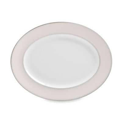 Monique Lhuillier Waterford® Dentelle 13.5-Inch Oval Platter