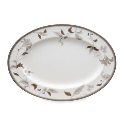Noritake® Islay Platinum 14-Inch Oval Platter