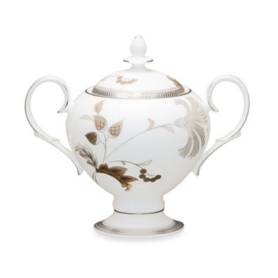 Noritake® Islay Platinum 9-Ounce Covered Sugar Bowl