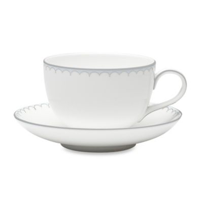 Waterford® Monique Lhuillier Lily of the Valley Boxed Teacup and Saucer Set