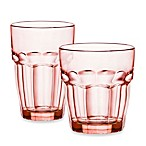 Bormioli Rocco Rock Bar Lounge Glasses in Peach