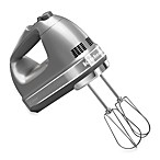 KitchenAid® 9-Speed Digital Hand Mixer in Silver