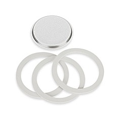 Bialetti® Gaskets & Filter Set for Bialetti® Moka Express 12-Cup Espresso Machine