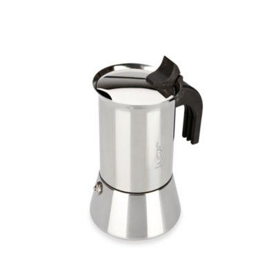 Bialetti® Venus Stainless Steel 4-Cup Espresso Maker